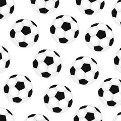 background soccer balls on white background