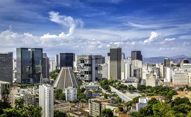 Financial center of Rio de Janeiro, Brazil