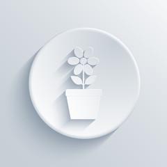 vector light circle icon. Eps 10