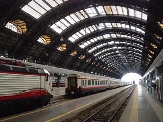 Poster Treinstation Milan Train Station