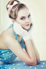 Vintage style portrait