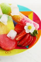 summer berry dessert