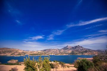 Zahara reservoir, Andalusia, Spain