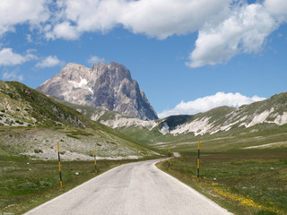 National Park of Gran Sasso of Italy