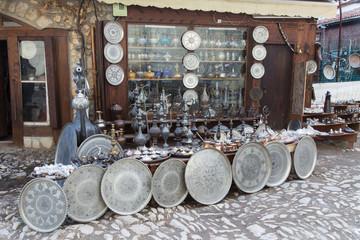 Souvenir shop in Saftanbolu, Turkey