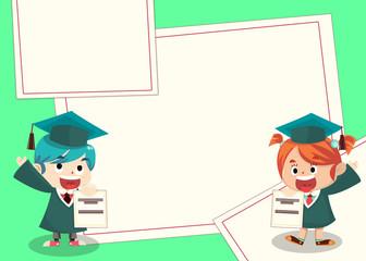 Graduation Card - Irish and Akito GPA