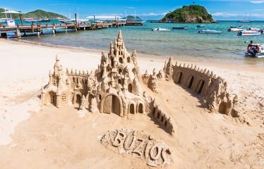 Beach in Buzios, Rio de Janeiro. Brazil