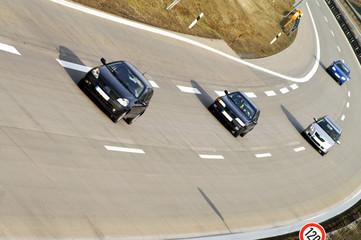 Fototapete - Autobahn Route