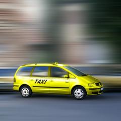 Schnelles Taxi