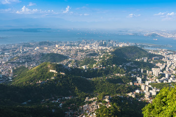 Aerial view of Rio de Janeiro. Brazil