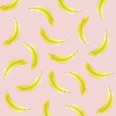 pop art bananas background
