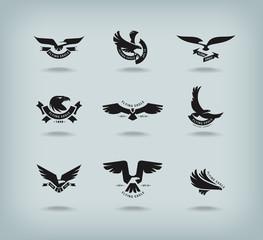 Eagle. Vector format