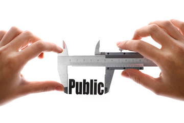The size of our public