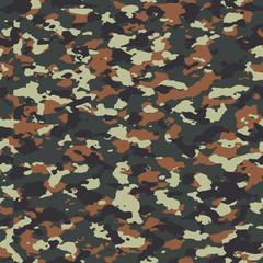 Flecktarn seamless camo pattern