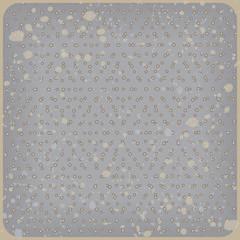 Polka dot background. Rhombus pattern. Vector illustration