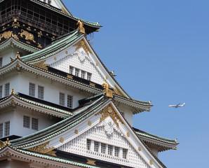 Avión castillo de Osaka