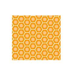 seamless geometric pattern with honeycombs