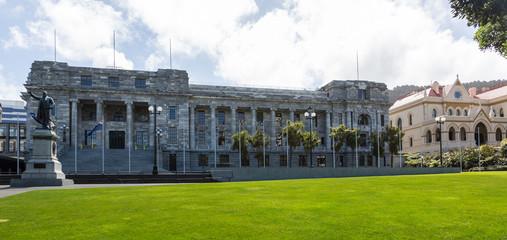 Wellington Parliament buildings NZ