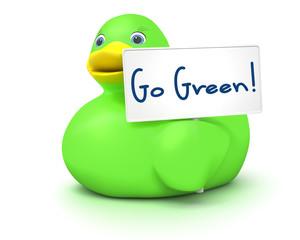 Ducky Go Green