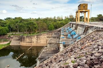 Hydraulic power station