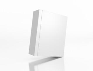 Box in Box schräg auf weißem Hintergrund