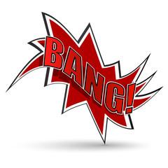 Comic book bang