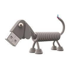 3d funny technology animal, USB connector dog