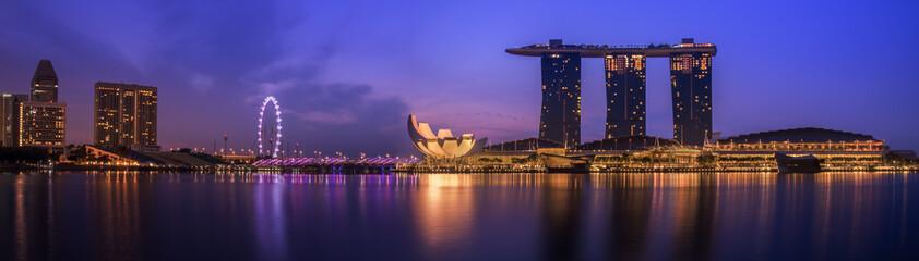 Foto op Plexiglas Singapore Singapore city