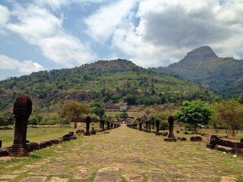 Wat Phu Champasak Buddhist Temple, Southern Laos, Southeast Asia
