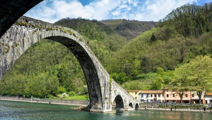 Toscana, Ponte della Maddalena, detto anche, del Diavolo