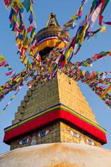 Acrylic Prints Nepal Boudhanath Stupa in Kathmandu, Nepal