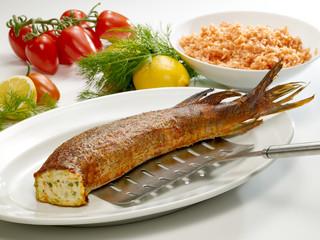 gefüllter Fisch