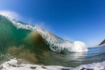 Wave Color Swimming Ocean