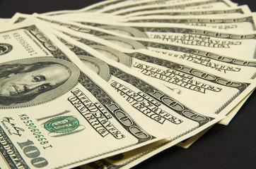 Dollars banknotes.