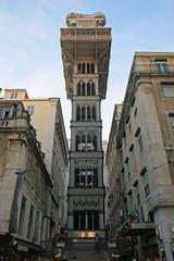 Santa Justa Elevator or Lift (Elevador de Santa Justa), Lisbon.