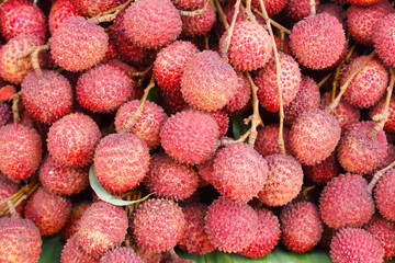 Lychees fruit  (Litchi chinensis)