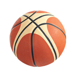 Basketball ball on a white background. Isolated