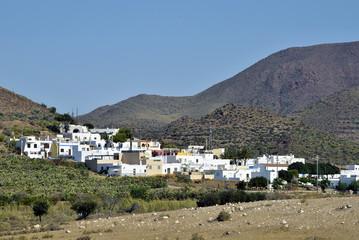 El Pozo de los Frailes in Cabo de Gata natural park, Almeria