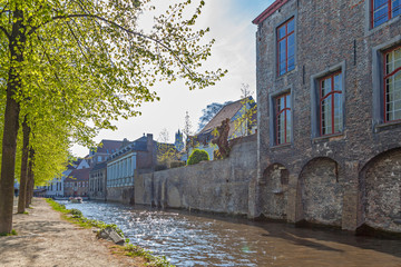 Wall Mural - Canal in Bruges