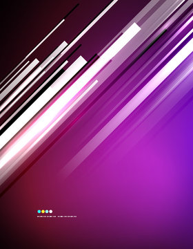 Light shiny straight lines background