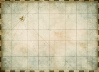 empty old map background