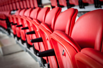 Printed roller blinds Stadion Seats