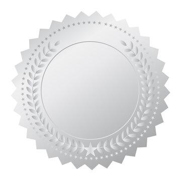 Vector silver medal