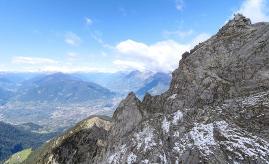 Walking On the Mountais of Meran