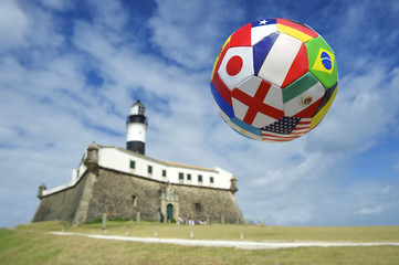 International Football Salvador Lighthouse