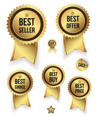 Gold badges set promotion guarantee