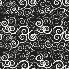 Seamless monochrome pattern 2