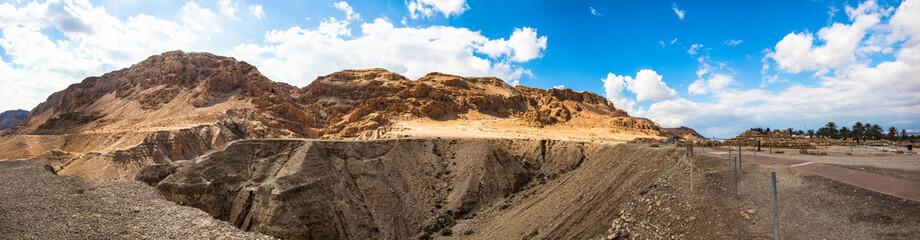 Panorama of Qumran - Israel