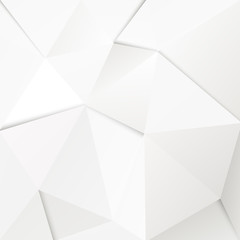 Abstract geometric polygonal paper background.