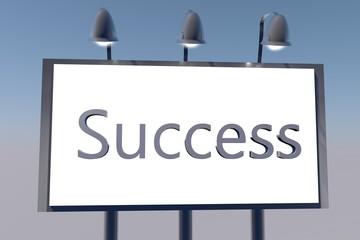 Success on billboard